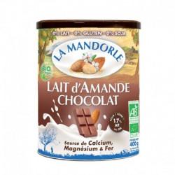 Préparation lait d'amande chocolat 400g
