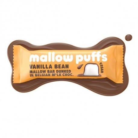 Barre mallows vanille enrobés de chocolat 30g