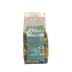 Monsters - chocolat fourrés 500g