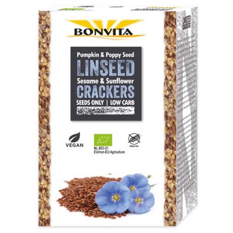 Crackers aux graines de lin 100g