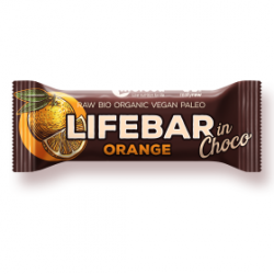 Lifebar inchoco orange  40g