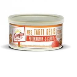 Tarti delis potimarron et curry 125g