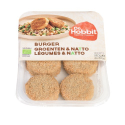 Burgers légumes et natto 180g