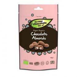 Amandes au chocolat cru 125g