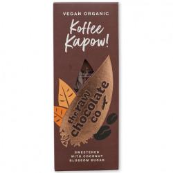 Barre chocolat cru koffee kapow 38g