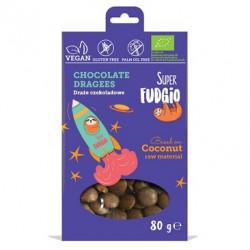 Mini médaillons croquants au chocolat 80g