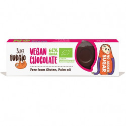Barre chocolat noir 62% cacao 40g