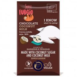 Tablette chocolat au lait de coco 80g