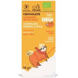Tablette chocolat au caramel salé 50g