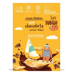 Corn flakes avec pétales enrobés de chocolat 200g