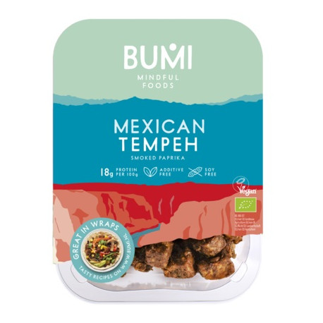 tempeh de lupin à la mexicaine 175g