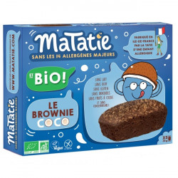 Brownie chocolat coco 155g