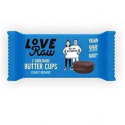 Cups chocolat brownie cacahuète 34g