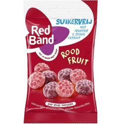 Bonbons fruits rouges sans sucre 85g
