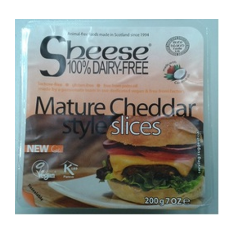 Sheese cheddar vieux en tranches 200g