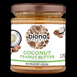 Beurre de cacahuète noix de coco 170g