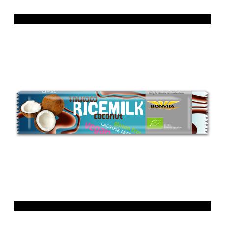 Barre chocolat lait de riz coco 35g