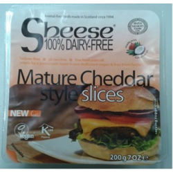 Sheese cheddar vieux en tranches 200g
