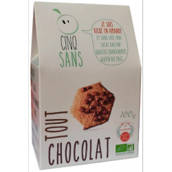 Biscuits tout chocolat 100g