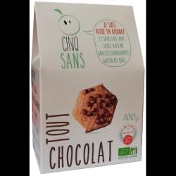 Biscuits tout chocolat 100g
