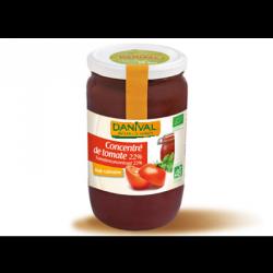 Concentre de tomate 22% marmande 700g