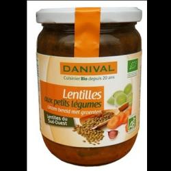 Lentilles aux petits legumes 525g