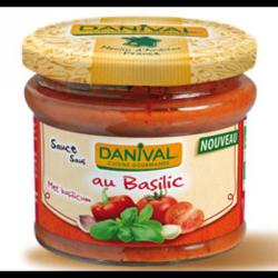 Sauce tomate basilic 210g