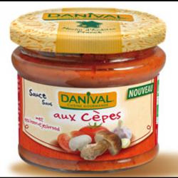 Sauce tomate avec cèpes 210g