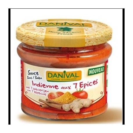 Sauce indienne aux 7 épices 210g