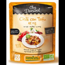 Chili con tofu et riz 250g