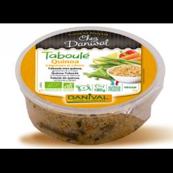 Taboulé quinoa, légumes et citron 180g