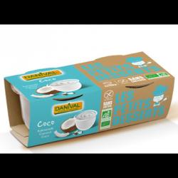Dessert lait de coco 220g