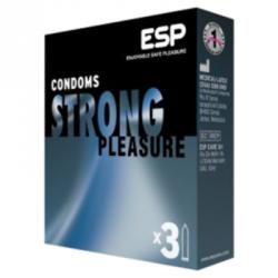 3 préservatifs strong pleasure