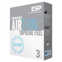 3 preservatifs Air Thin