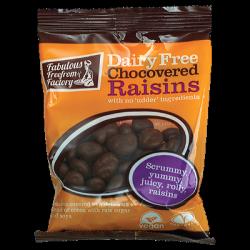 Raisins enrobés de chocolat