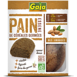 Pain essene blé amande 500g