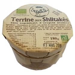 Terrine aux Shiitakés 180g