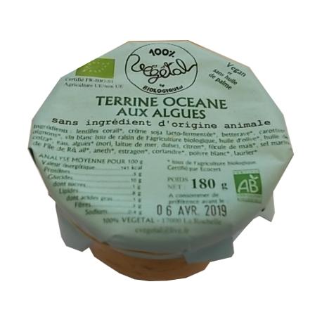 Terrine océane aux algues 180g