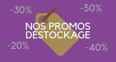 Promotions déstockage
